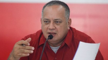"Diosdado Cabello acusa a la oposición venezolana de temer a la palabra ""diálogo"""