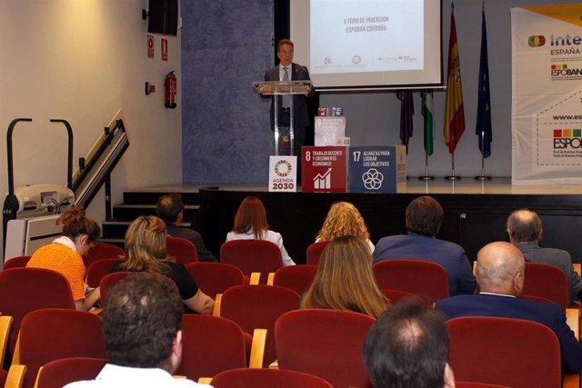 CórdobaÚnica.- Ocho emprendedores exponen ante medio centenar de inversores sus proyectos en el II Foro de Espoban
