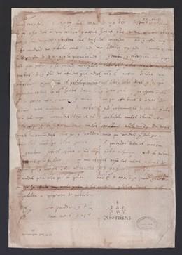 Sevilla.-El Archivo de Indias inaugura una exposición sobre intercambio postal que exhibe una carta original de Colón
