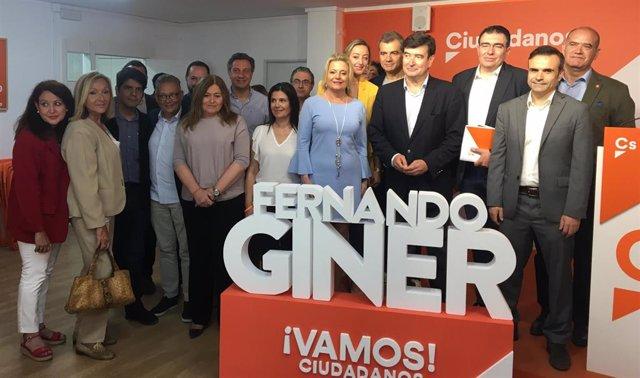 """26M.- Giner (Cs) Critica La """"Radicalización"""" Del PSPV De València Y Cree Que Ha Sido """"Sumiso"""" Ante Las Políticas De Grez"""