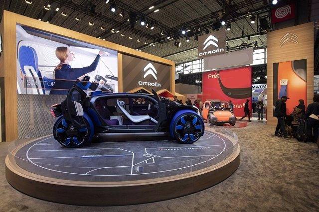 Economía/Motor.- Citroën presenta en París un prototipo autónomo y eléctrico para la movilidad extraurbana