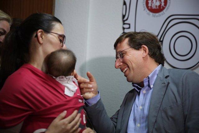 26M.- Almeida Destinará Ayudas Económicas Por Valor De 6 Millones De Euros A Embarazadas En Situación De Dificultad
