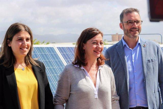 26M.- Armengol Señala Que Invertirá 300 Millones En Instalaciones Fotovoltaicas Y De Autoconsumo