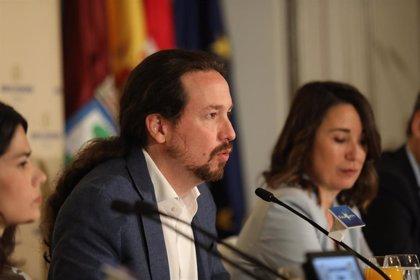 """Iglesias ve """"un buen punto de partida"""" el acuerdo con PSOE en el Congreso y elogia la """"brillantez"""" de Batet"""