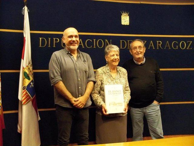 La Institución Fernando el Católico edita el libro 'El dance en Aragón' que recopila textos inéditos de Mercedes Pueyo