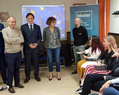 Dolors Monserrat aboga por triplicar el número de estudiantes que tengan acceso al programa Erasmus