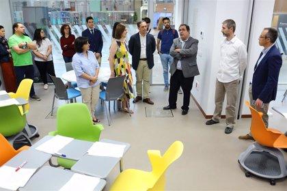 La Olavide de Sevilla estrena un nuevo espacio de trabajo colaborativo, de innovación y aprendizaje