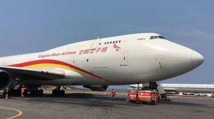 Llega a Venezuela el tercer cargamento de asistencia humanitaria procedente de China