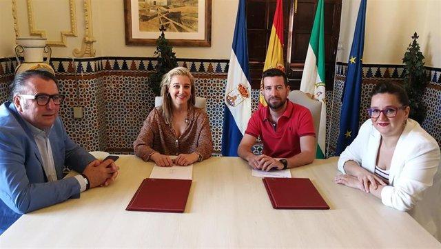 Sevilla.- Ayuntamiento de Alcalá y Asociación Musical Nuestra Señora del Águila incentivan la cultura y música de bandas