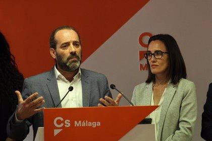 Cs plantea eliminar la plusvalía por herencia en Málaga y rebajar la deuda municipal más de 20 puntos