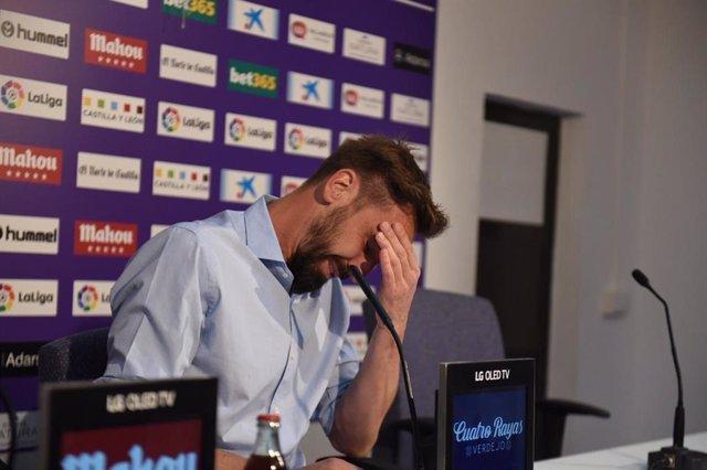 Fútbol.- Borja Fernández anuncia su retirada y continuará ligado al Real Valladolid