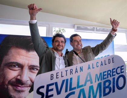 """Moreno, a Beltrán Pérez: """"A mí también me decían que no había nada que hacer y soy presidente de la Junta"""""""