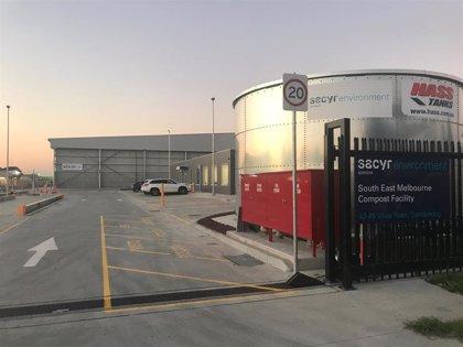 Sacyr pone en marcha su primera planta de tratamiento de residuos en Australia