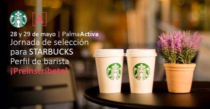 PalmaActiva selecciona personal con el perfil de barista para la empresa Starbucks