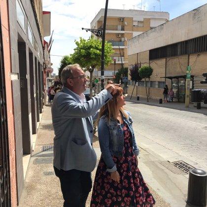 """26M.-Verónica Pérez y el alcalde de San Juan señalan la gestión """"social"""" del PSOE con las obras del ambulatorio"""