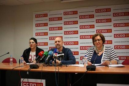Los convenios colectivos firmados en Aragón durante 2018 registran un incremento salarial medio del 1,63%