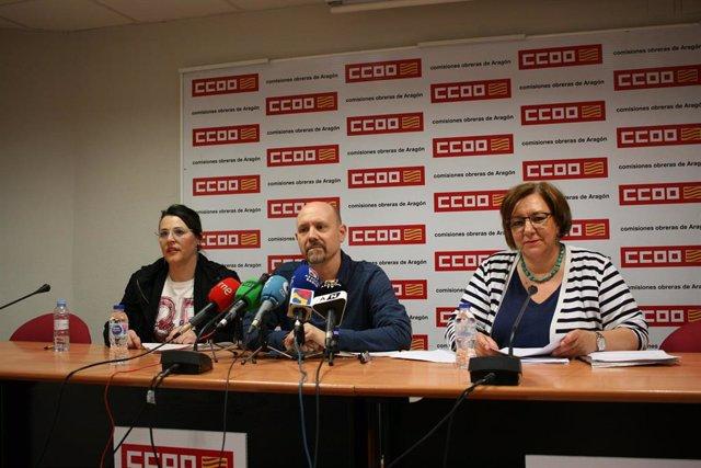 Los convenios colectivos firmados en Aragón durante 2018 suponen un incremento salarial medio del 1,63%