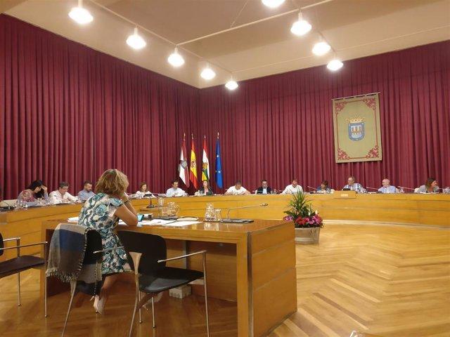 """Gamarra acusa a la oposición de hacer """"politiqueo del malo"""" en el pleno del Ayuntamiento"""