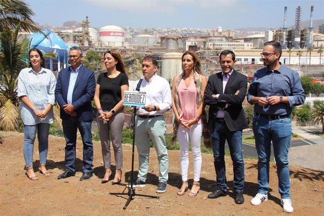 26M.- Bermúdez (CC) Propone Reponer 7.000 Contenedores, Adquirir Guaguas Eléctricas Y Ampliar Las Zonas Verdes
