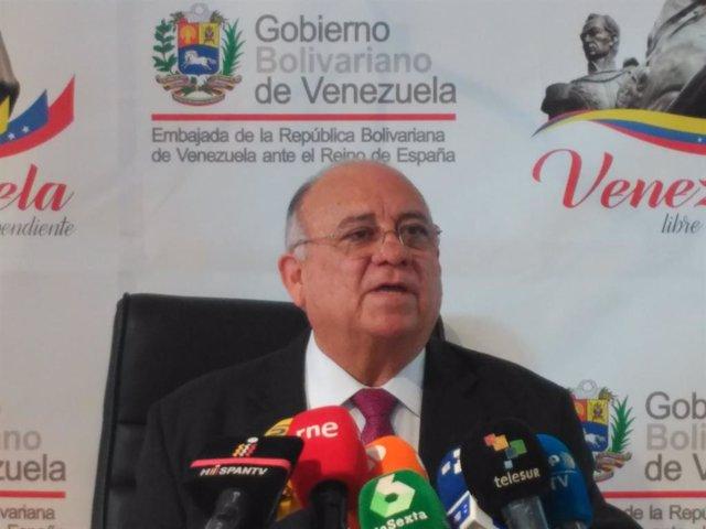 """Venezuela.- Venezuela pide a España que """"retire"""" el reconocimiento a Guaidó y asuma que """"se precipitó"""""""