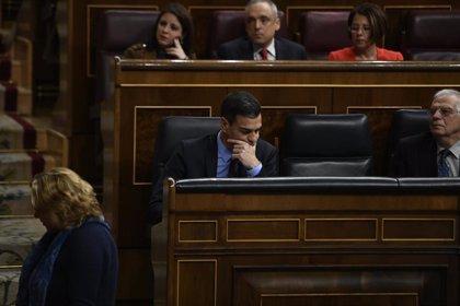 Pedro Sánchez tramita por delegación su acta de diputado en el Congreso
