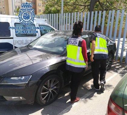 Detenido en Granada por la manipulación del bastidor de un vehículo de alta gama sustraído en Polonia
