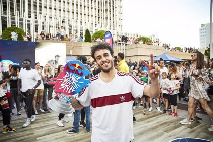 Chey se corona como mejor bailarín de España en Red Bull Dance Your Style