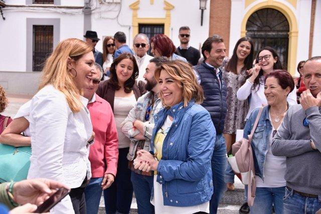 """Susana Díaz avisa de que la Junta, """"a la primera de cambio, intentará eliminar"""" gratuidad de matrículas universitarias"""