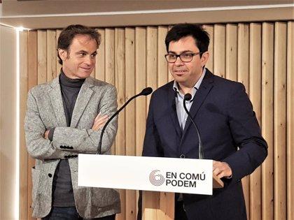 Jaume Asens (ECP) ve encaminada la negociación con el PSOE tras sentar a Pisarello en la Mesa