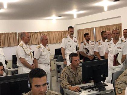 El Rey asistirá el próximo viernes al ejercicio de salvamento y rescate de submarinos 'Cartago 19' en Cartagena