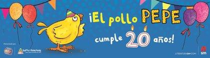 'El pollo Pepe' celebra mañana en la capital sus 20 años con una charla sobre la importancia de leer a los niños