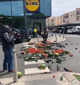 """Almería.-26M.-COAG reclama a los partidos cambios para el comercio hortofrutícola ante una campaña """"desesperante"""""""