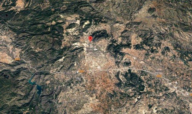 Valencia.- Sucesos.- Hospitalizada una mujer de 94 años tras producirse un incendio en una casa de Villar del Arzobispo