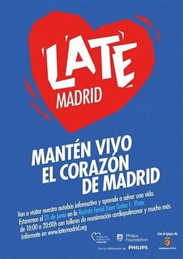 'Late Madrid' Llega Este Fin De Semana A Villanueva De La Cañada Para Concienciar Sobre El Paro Cardíaco