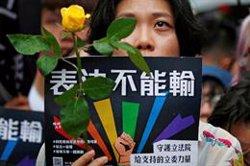 Taiwan legalitza el matrimoni entre persones del mateix sexe (REUTERS / TYRONE SIU)