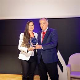 Varios.- Ronaldo, Carolina Marín y Joana Pastrana, premiados por sus valores en el ISDE Sports Convention en Madrid
