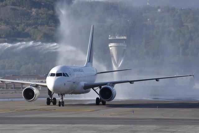 Air France aumenta un 30% las plazas en la ruta entre Bilbao y París, al pasar a operar con aviones A318