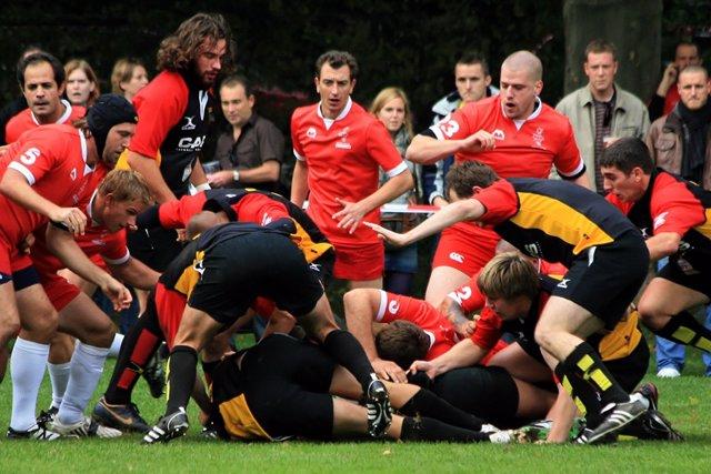 Rugby, deportes en equipo