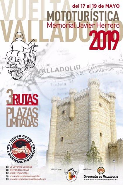 El Moto Club La Leyenda Continúa celebra este fin de semana en Valladolid la ruta 'Memorial Javier Herrero'