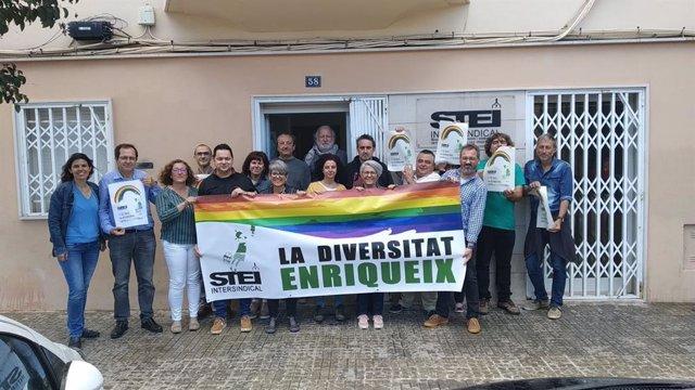 """STEI se compromete a seguir con la """"lucha LGTBI"""" en los centros de trabajo donde tiene representación y en la calle"""