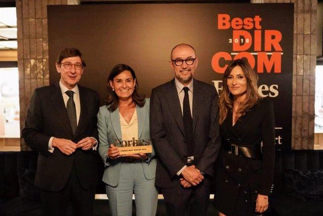 Amalia Blanco, Premio Forbes Best Dircom 2018