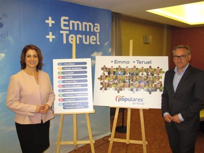 Emma Buj (PP) presenta 213 medidas en su programa para la ciudad de Teruel