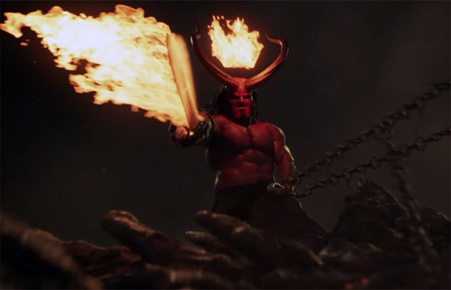 Así son las escenas post créditos de Hellboy