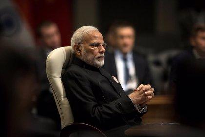 El primer ministro de India da su primera 'rueda de prensa' en cinco años pero no acepta preguntas de los periodistas