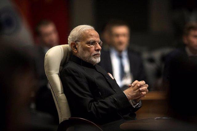 India.- Modi está al borde de reeditar su mayoría absoluta en India, según una encuesta