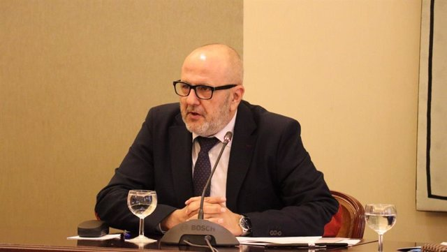 El presidente del Consell de Mallorca, Miquel Ensenyat,