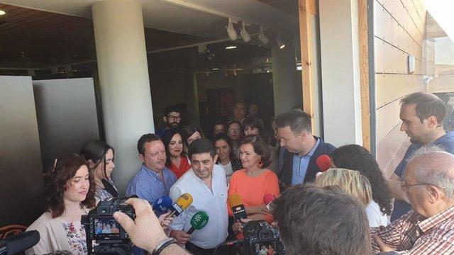 """Carmen Calvo critica a Cs por votar con los independentistas para """"tumbar"""" la designación de Iceta"""