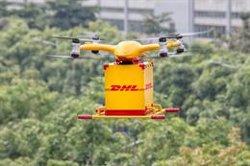 Els drons intel·ligents de DHL ja reparteixen paquets a la Xina de manera autònoma (DHL)