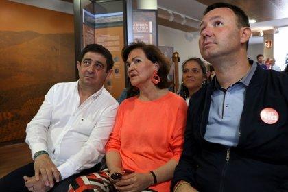 """Carmen Calvo sitúa a PSOE como """"gran refugio de políticas de avance"""" y pide """"rematar"""" lo iniciado con la moción y el 28A"""