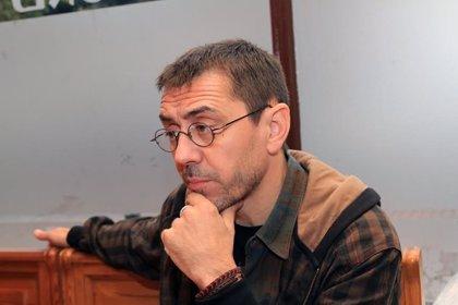 """Monedero: """"Sánchez quiere gobernar con Unidas Podemos; ya lo quiso en una ocasión pero le cortaron la cabeza"""""""